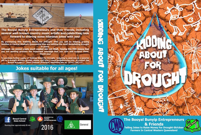 'Kidding about for drought' DVD available